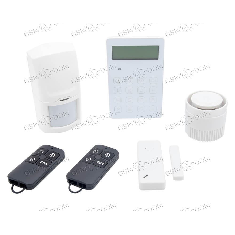 Беспроводная охранная 2G GSM сигнализация Страж Line