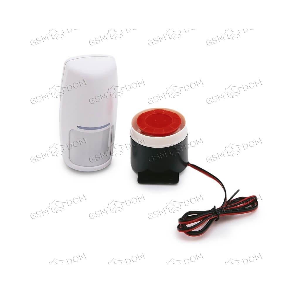 Беспроводная охранная GSM сигнализация Страж Премиум (10C) - 2