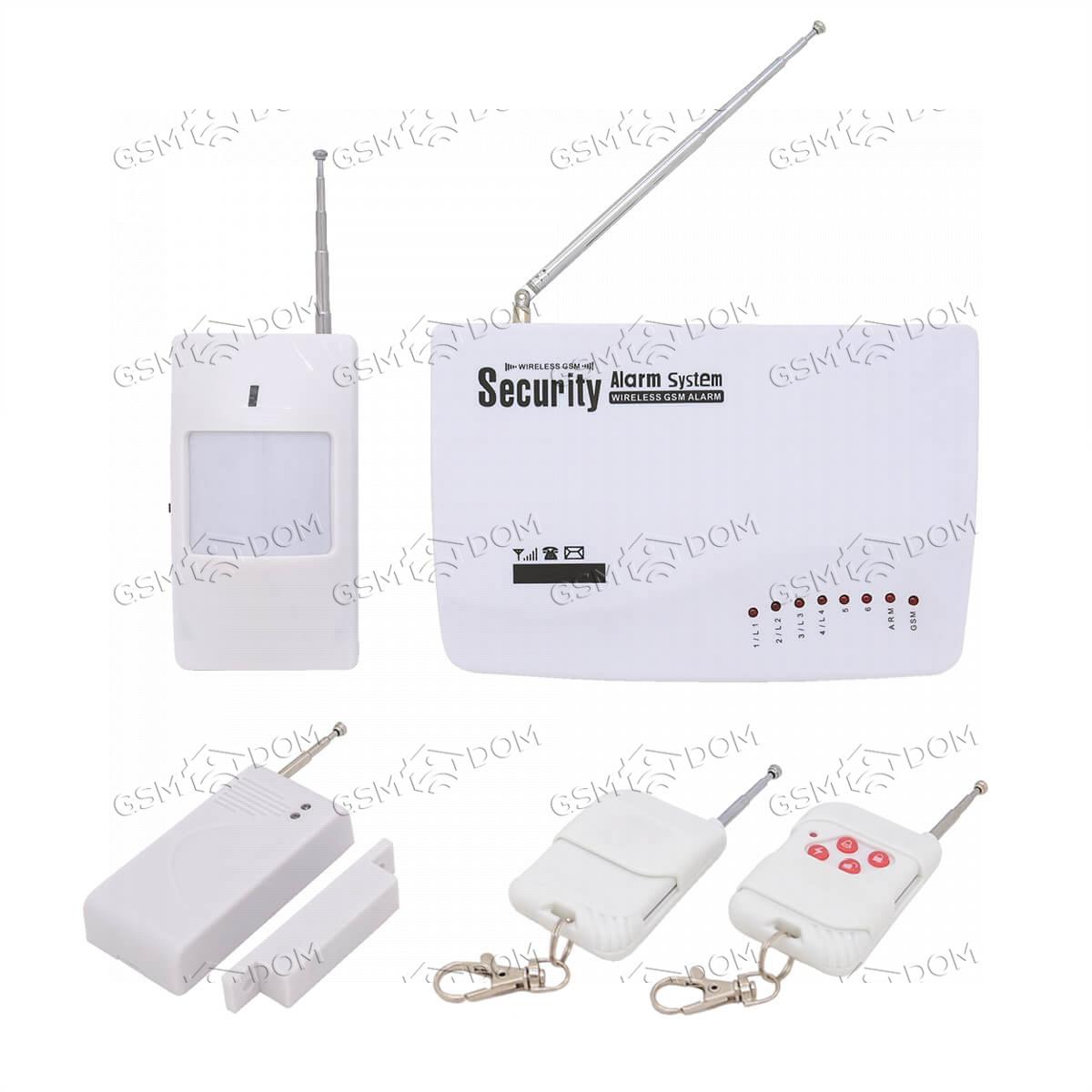 Беспроводная охранная GSM сигнализация Страж Универсал