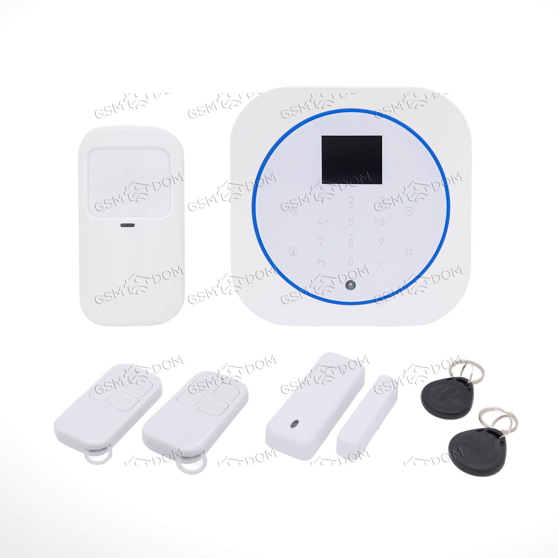 Беспроводная охранная GSM / Wi-Fi сигнализация Страж Promo (G12)