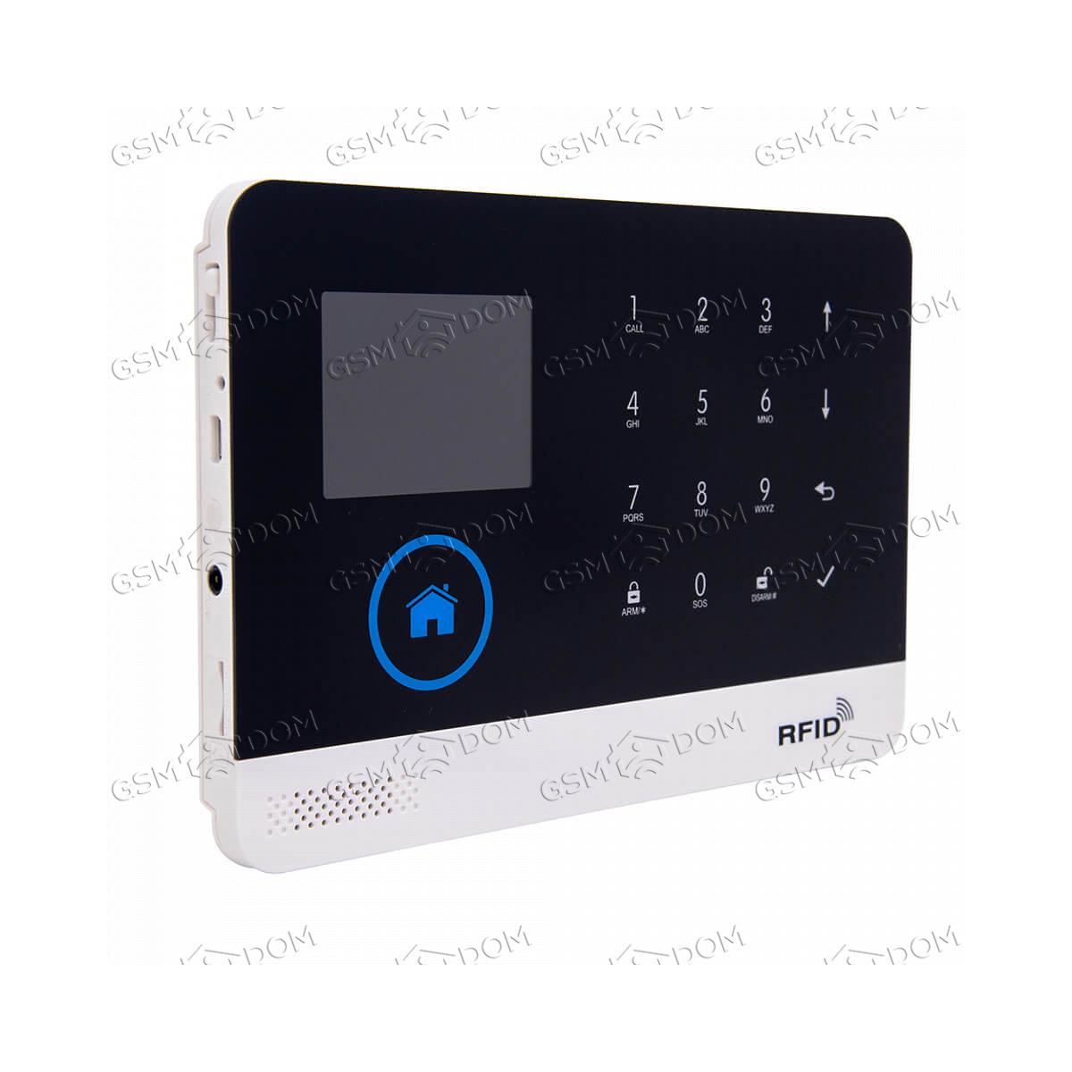 Беспроводная охранная (пожарная) WiFi GSM сигнализация Страж Про 4 - 2
