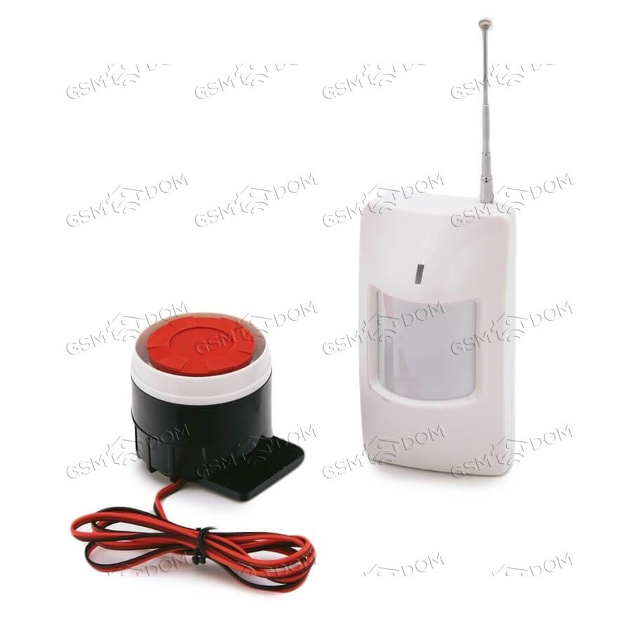 Беспроводная охранная Wi-Fi сигнализация Страж Оптима (2088) - 2